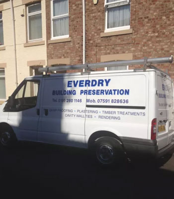 Property Maintenance Work by Everydry Building Preservation - North Shields & Whitley Bay